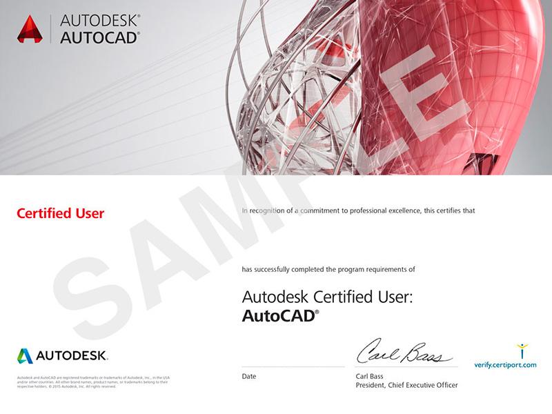 ACU_AutoCad_Certificates_Sample