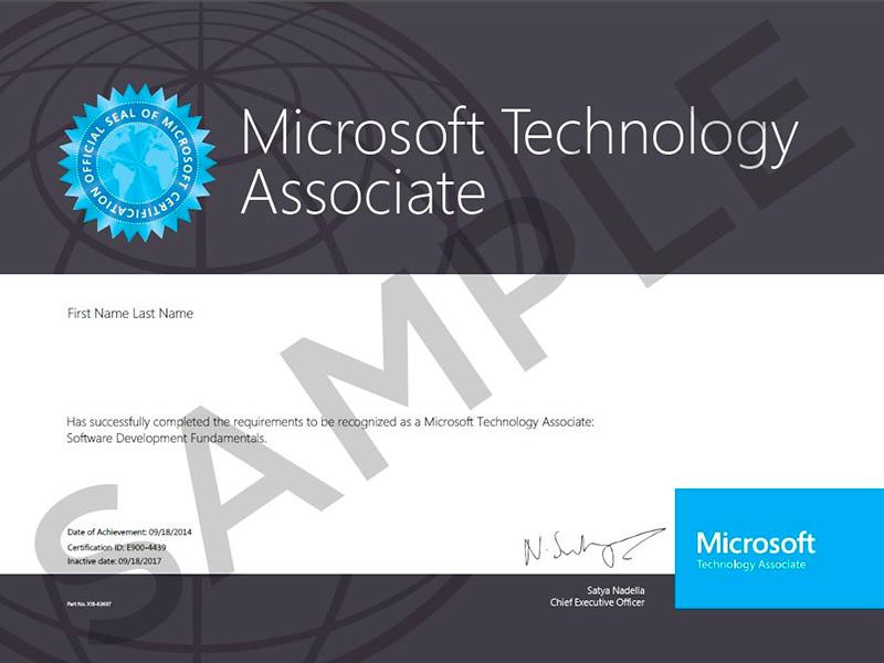 MTA_Certificate_Sample