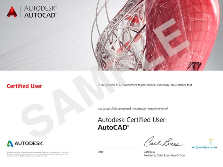 ACU_AutoCad_Certificates_Sample