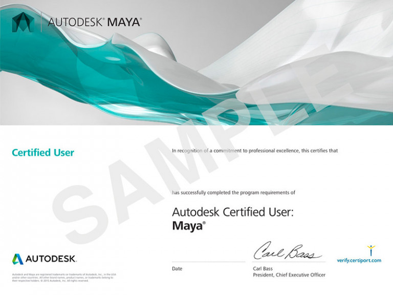 ACU_Maya_Certificates_Sample